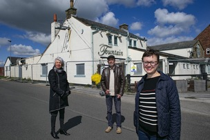 Main image for Pub plan praised by locals as green light is given