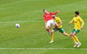 Main image for End of goalless sequence gives Chaplin confidence for play-offs