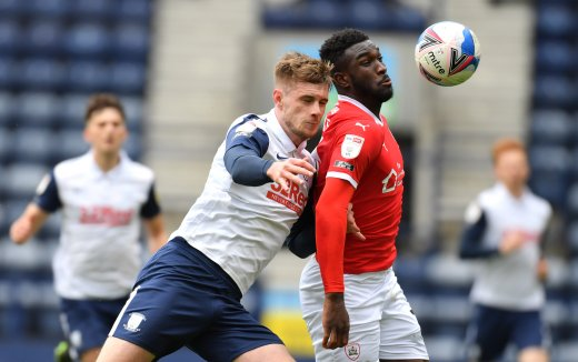 Main image for Reds lose last league away game at Preston
