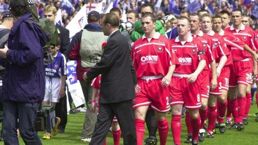 Main image for Injured skipper Eaden still led Barnsley out