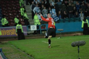 Main image for PLAY-OFF MEMORIES: Winner at Huddersfield in 2006 is Nardiello's favourite goal