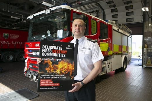 Main image for Deliberate fire figures rise in town