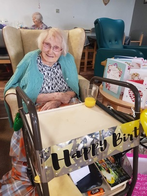 Main image for Pandemic fails to halt 109-year-old's birthday celebrations