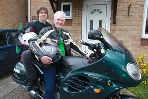 Main image for Veteran fundraiser Bob set for 2,000-mile journey