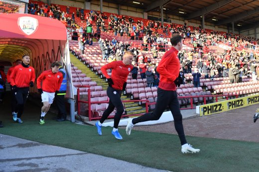 Main image for Magical night despite scoreline as Reds return to Oakwell