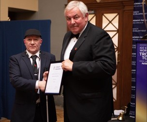 Main image for Coach Martin's shock at cricketing award