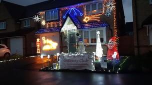 Main image for Town sees light in family's latest festive fundraiser