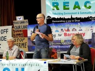 Main image for Hoyland campaigners resume meetings