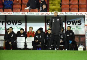Main image for 'Pressure on' but Schopp calls for united front with fans