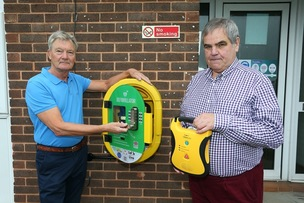 Main image for Defibs placed across village