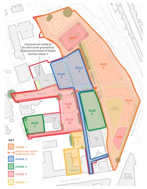 Main image for 'Urban village' plan for town centre site