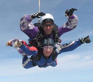 Main image for Nurse set for skydive