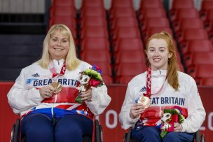 Sue Bailey and Megan Shackleton. Picture: Getty.