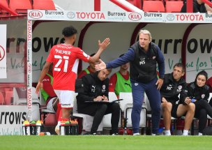 Main image for Schopp happy with window and backs young midfield to grow