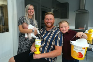 Main image for Family's fundraising bid for 'amazing' hospital staff