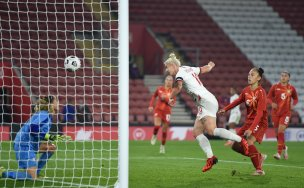 Main image for Barnsley women star for England in different sports